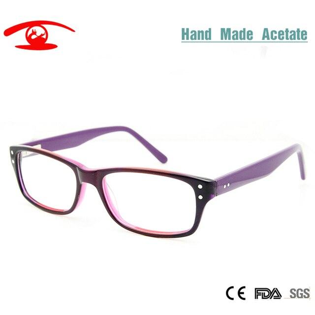 78c8682922 SORBERN New Fashion Multi Purple Orange Glasses Frames Women Square oculos  de grau female Eyeglasses Frames Optical Lens Rx
