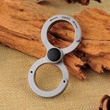 EDC GEAR Mini Bottle Opener Keychain Tools Outdoor Camping Equipment Pocket Lightweight 420 Stainless Steel