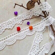 3 ярдов/партия нейлоновые кружевные аксессуары для украшения одежды кружевные ленты с отделкой Ткань для шитья свадебного платья