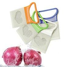 Луковая игла из нержавеющей стали для картофеля, кухонный гаджет, инструмент для резки проволоки, безопасный дизайн для пищевых продуктов
