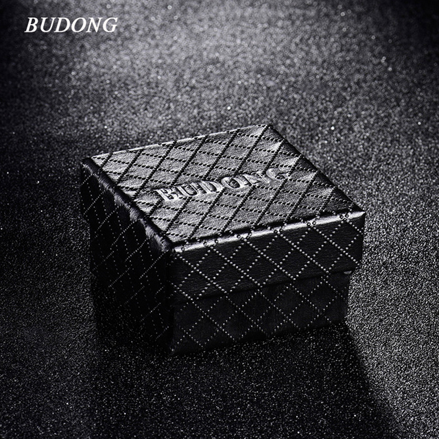 BUDONG Luxury Infinity Rings Gift Boxes Jewelry Infinity Rings Display Gift Container Box