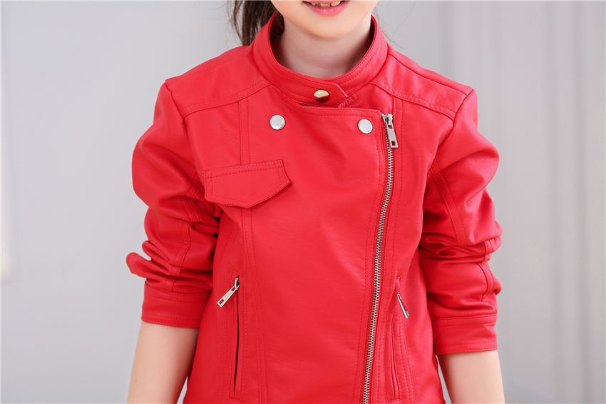 4216278c0de5 Pink Leather Jacket Girls