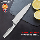 Damask Stainless Steel Knife Fruit Utility Santoku Chef Slicer Stainless Steel Chef Kitchen Knives Japanese Style Meat Cleaver