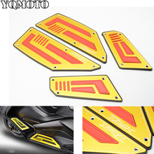 Footrest Pedal Motorcycle Front & Rear Motorbike Footboard Steps Foot Plate for Yamaha TMax530 T Max TMax 530 2008-2014