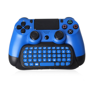 Image 2 - HAOBA 2.4G Wireless Mini Controller Keyboard Gamepad  Chatpad for PS 4 / PS 4 Slim / PS 4 Pro
