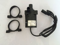 12V Brushless Water Pump 40-1250, 520LPH 5M, Magnetic Driven Submersible for CPU Cooling Small Fountain, Long Life