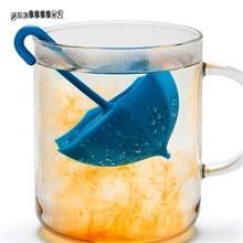 Mr заварки фильтры силиконовая чая чайник фильтр кофе форма зонтик творческий