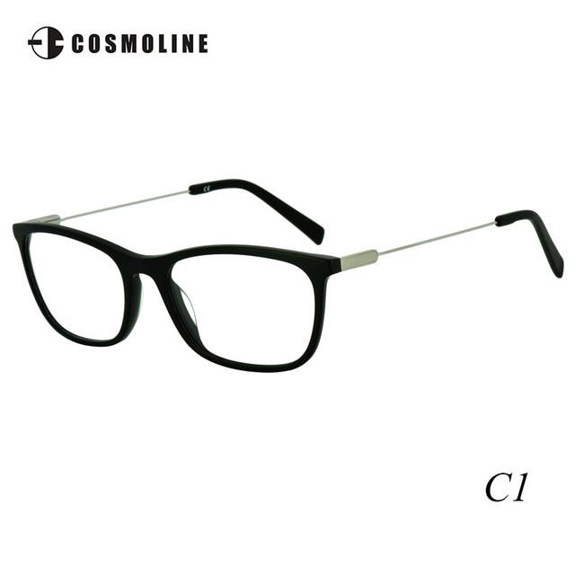 Cosmoline Marco Óptico de Las Mujeres A Estrenar 2016 Montura de gafas De Acetato Marcos de Los Vidrios Mujeres Miopía Gafas 465