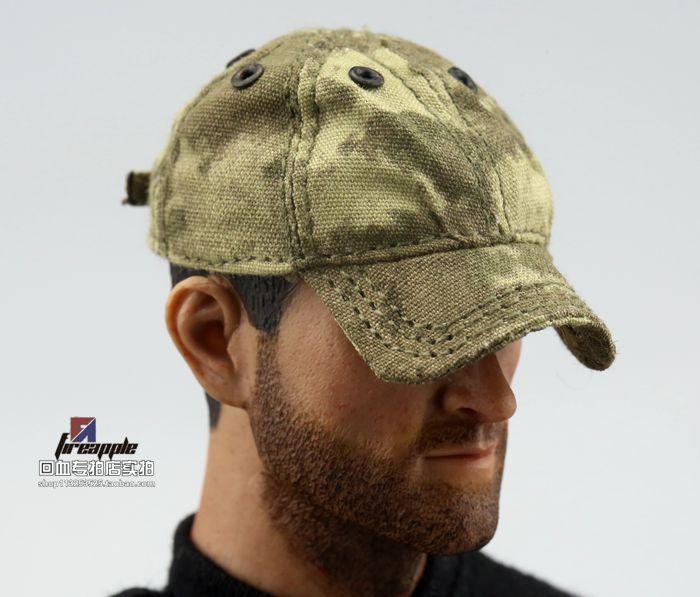 1 6 soldiers CalTek US military A TACS ruins camouflage hat cap cap baseball cap spot