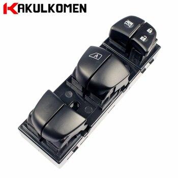 Lewy przedni energii elektrycznej REGULATOR OKNA przełącznik główny 25401-1KA0B dla Nissan Juke liść Sentra 254011KA0B 25401 1KA0B