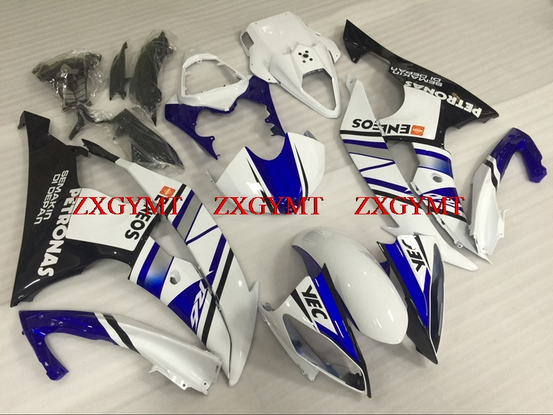 Abs Fairing for YZF R6 2008 - 2015 Motorcycle Fairing for YAMAHA YZFR6 2014 Blue White Abs Fairing YZF600 R6 2011Abs Fairing for YZF R6 2008 - 2015 Motorcycle Fairing for YAMAHA YZFR6 2014 Blue White Abs Fairing YZF600 R6 2011