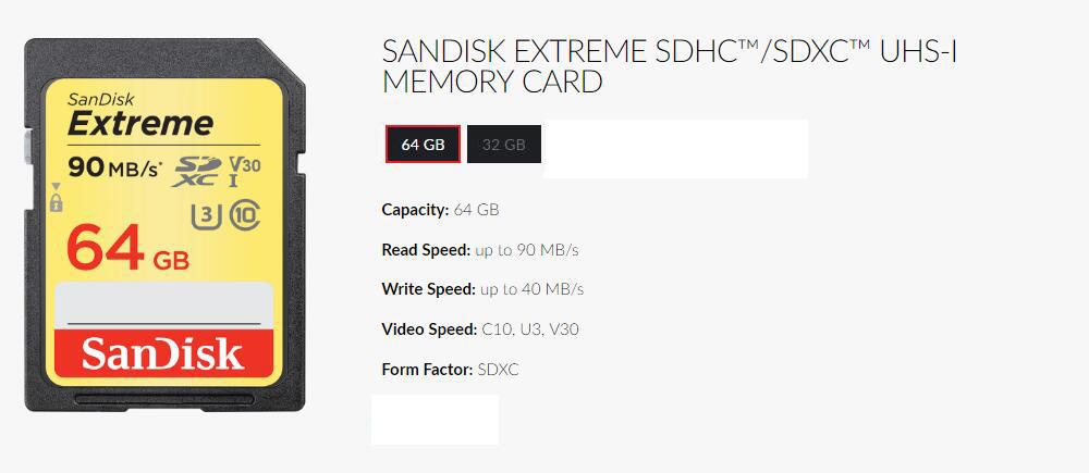 SanDisk SD 90M3