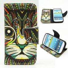 Case For Samsung Galaxy S 3 iii S3 Siii Neo i9300 i 9300 i9301 Duos i9300i GT-i9300 GT-i9301 GT-i9300i Flip Phone Leather Cover