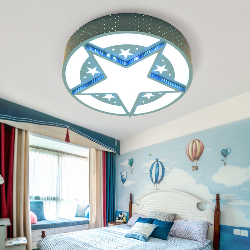 super man captain america star led ceiling light lamp children babies teen boy kids bed room. Black Bedroom Furniture Sets. Home Design Ideas