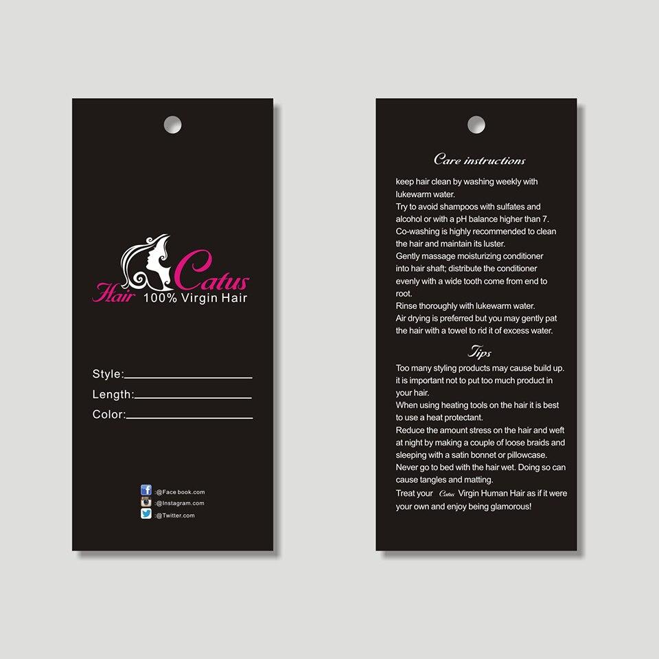 Fashion Label Tag Design