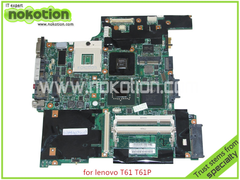 FRU 42W7649 For lenovo thinkpad T61 14 Laptop motherboard intel 965PM DDR2 Nvidia graphics NVS 140M graphics
