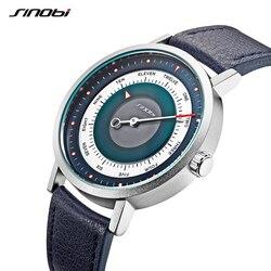 SINOBI New Creative Watch Mens Sports Watches Man's Quartz Wrist Watch Male Military Clock Casual Mysterious Sky Style Relogio