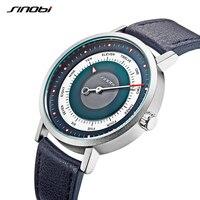 SINOBI-reloj deportivo para hombre, cronógrafo de cuarzo, estilo militar, informal, cielo misterioso, nuevo, creativo