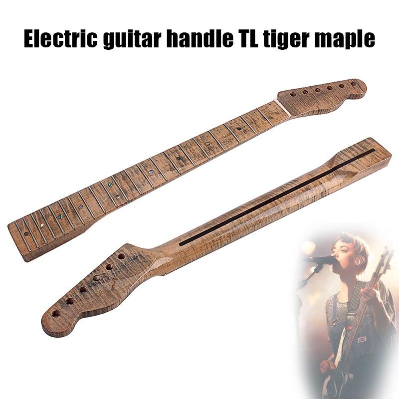 Guitare électrique cou en bois 21 Fret Instrument de musique remplacement accessoires durables & T8
