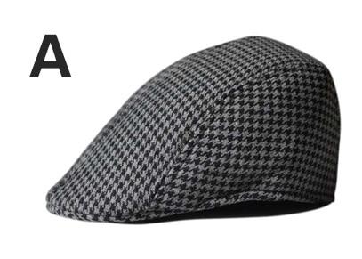 Английский стиль, однотонные весенне-зимние шапки для мужчин и женщин, модные уличные унисекс пляжные солнцезащитные шапки, новые повседневные мужские береты - Цвет: A