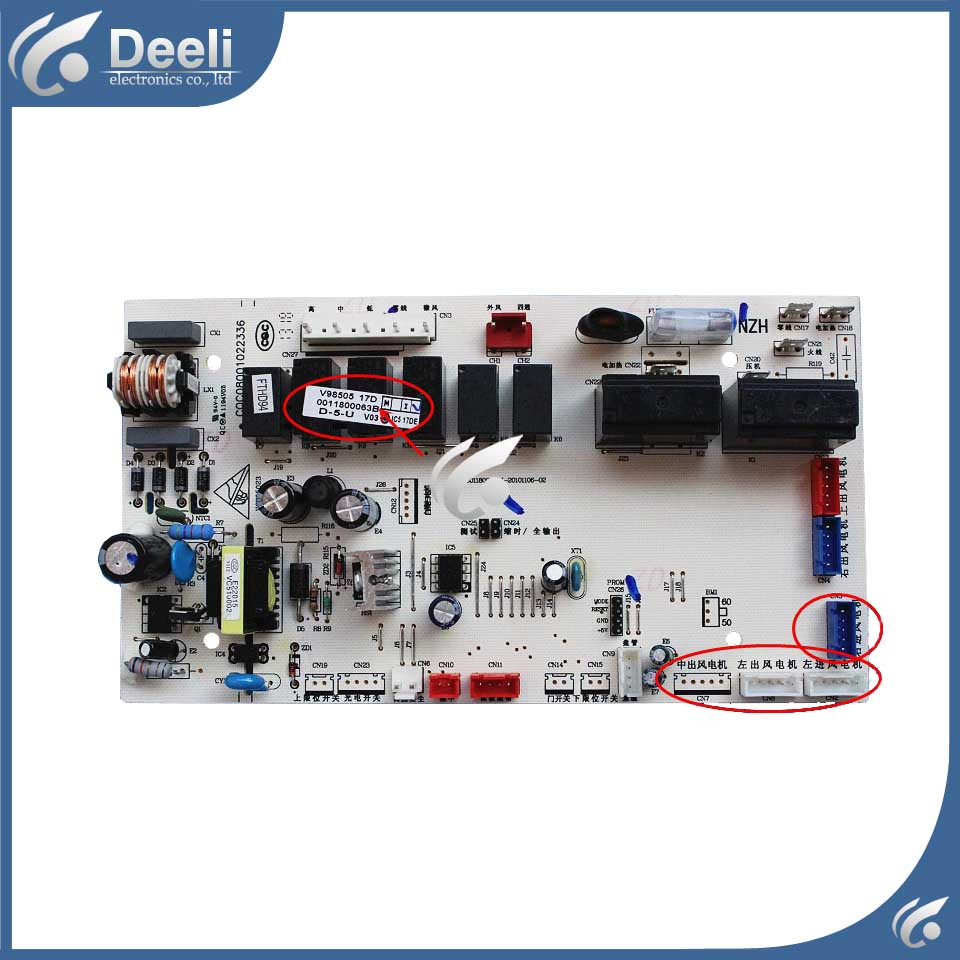 95% new good working for air conditioning KFRD-100L/CF-S4 KFRD-50L/R1-S2 0011800063B board control board r b parker s the devil wins