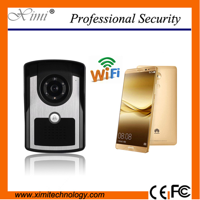все цены на Good Quality Wall Mounted Wireless Door Control Remote Take video & Photo Control Video Door Phone Wifi/Ip Visual Doorbell