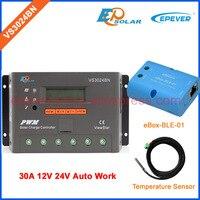VS PWM series Charger controller solar system bluetooth box sensor cable VS3024BN 30A EPsolar/EPEVER Solar regulator