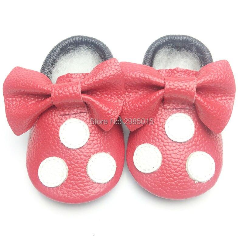 Hete verkoop van hoge kwaliteit baby meisjes schoenen echt leer - Baby schoentjes - Foto 2