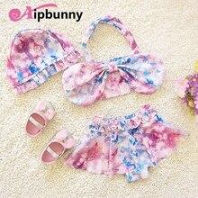 ca5c015e3333f Aipbunny 3 Piece Lot Ruffle Floral Cartoon Butterfly Kids Girls Bikini  Bathing Beach