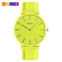 Часы Для мужчин и Для женщин Элитный бренд силиконовые Повседневное кутюр пару кварцевые часы для человека часы reloj hombre 2018 SKMEI