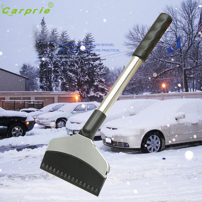 Car-styling Multifunction Vehicle Snow Ice Scraper SnoBroom Snowbrush Shovel Brush Winter nr28