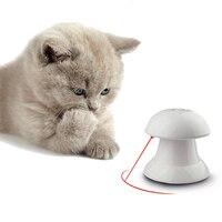 360 Graden Automatische Interactieve Dart Laserlicht ABS Plastic Teaser Grappige Oefening Training Kat Speelgoed Voor Kat Hond