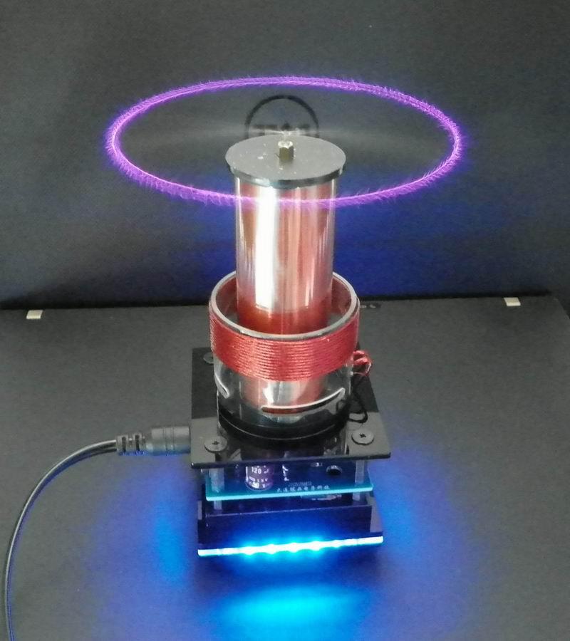 DIY Tesla Coil Music Tesla Coil phyis educational equiment Plasma Speaker 110V 240V
