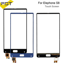 6.0''Black/Blue For Elephone S8 Touch Digitizer Panel Front