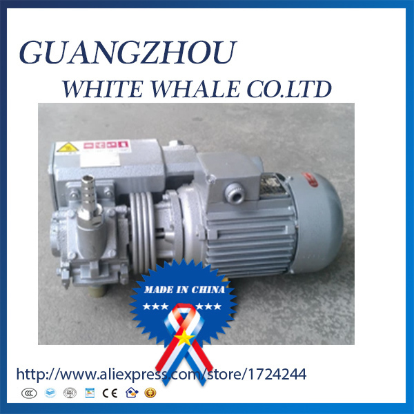 9.19XD 010 380v 50hz 0.37kw 10m3/h Single stage oil sealed rotary vane vacuum pump for Vacuum packaging