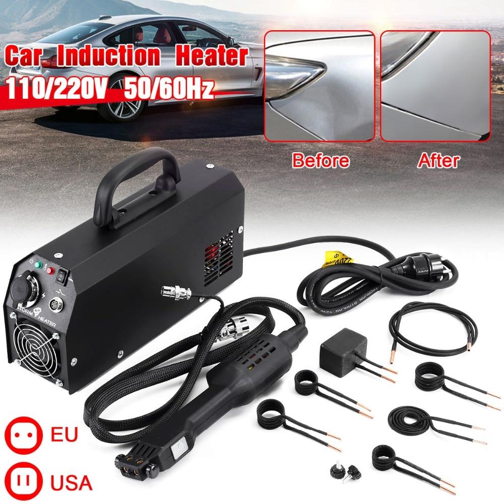 2000 Вт автомобильный удаление вмятин инструмент автомобильный индукционный нагреватель ремонт машины Инструмент безболезненный удаление ...