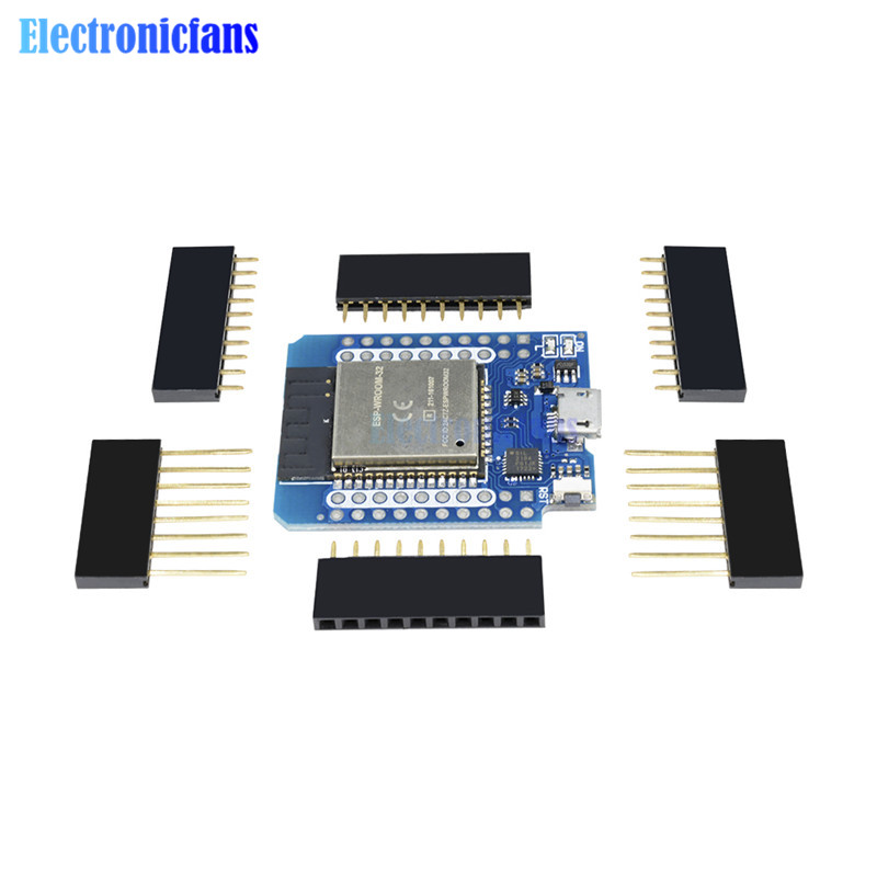 Mini D1 ESP8266 ESP32 ESP-32S For Wemos WIFI Bluetooth CP2104 Development Board Module For Arduino With Pins