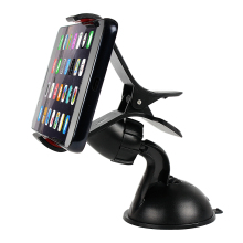 360 Degree Rotating Auto Mobile Phone Bracket Clip Mounted o