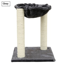 20″  Scratching Post Cat Tree Furniture with Hammock Bed Domestic Delivery Cat Toy Scratching Wood Climbing Tree 918