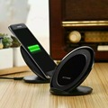 Fast  Wireless Charger Vertical Charging Pad Dock For Samsung S7/S7 Edge/S6 Edge+ Note5 or other QI receiver build in phone