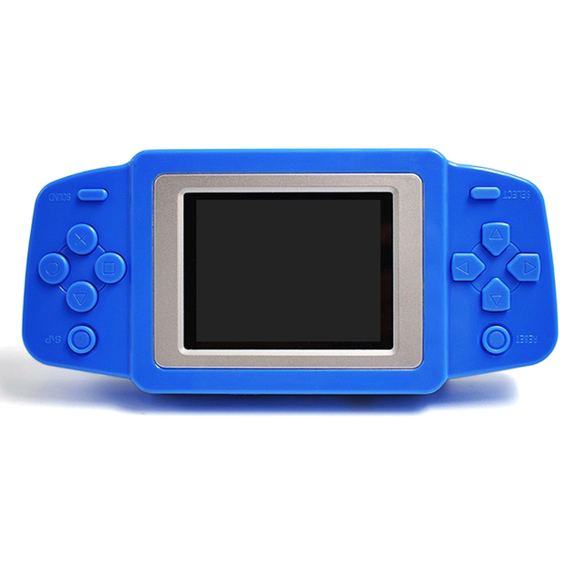 2.5'' Portable Video Game Player 268 8 bit Classic Games Gamepad Console Battery 3