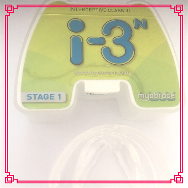 Dental Orthodontic Teeth Trainer i-3N Small Size /Teeth Orthodontic Trainer/Myobrace i-3n Trainer Use for Children