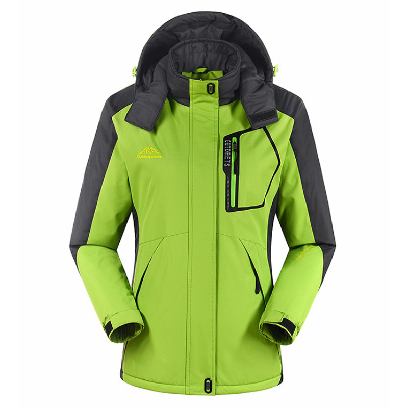 Prix pour Livraison Gratuite Top Qualité Hiver Femmes Ski Vestes Snowboard Coloré Chaud et Imperméable Coupe-Vent Respirant Ski Veste Manteau