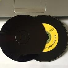 Wholesale 10 Discs A+ 52x 700 MB Blank Three Fruits Black Printed CD-R