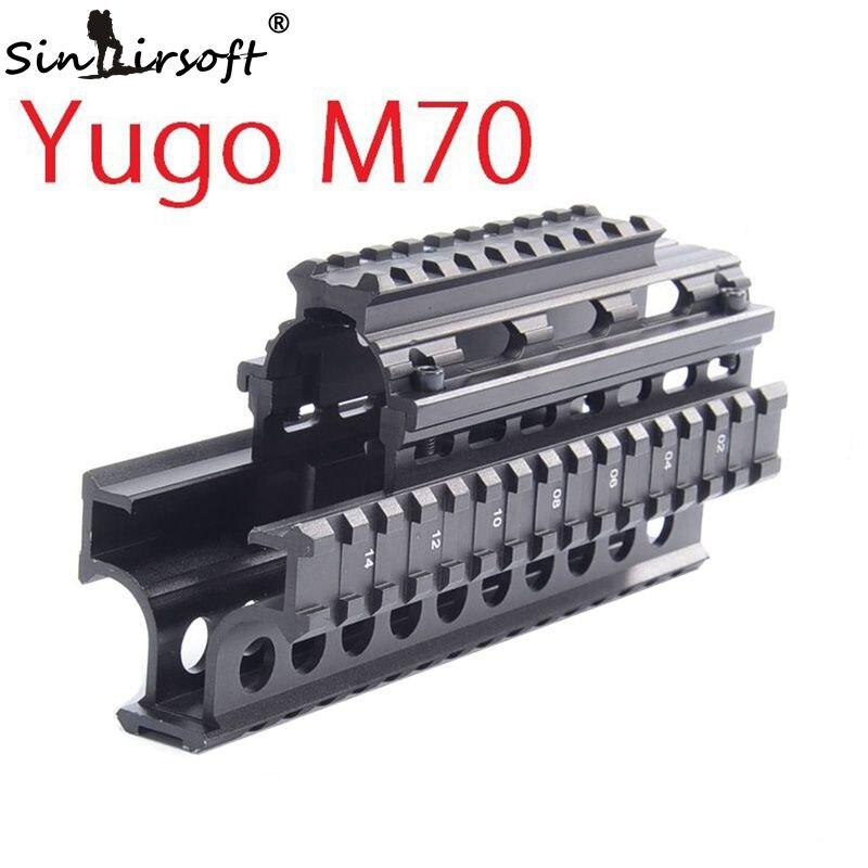 SINAIRSOFT Yugo M70 AK Quad Rails para AK 47/74 Caza de caza Táctica - Caza - foto 2