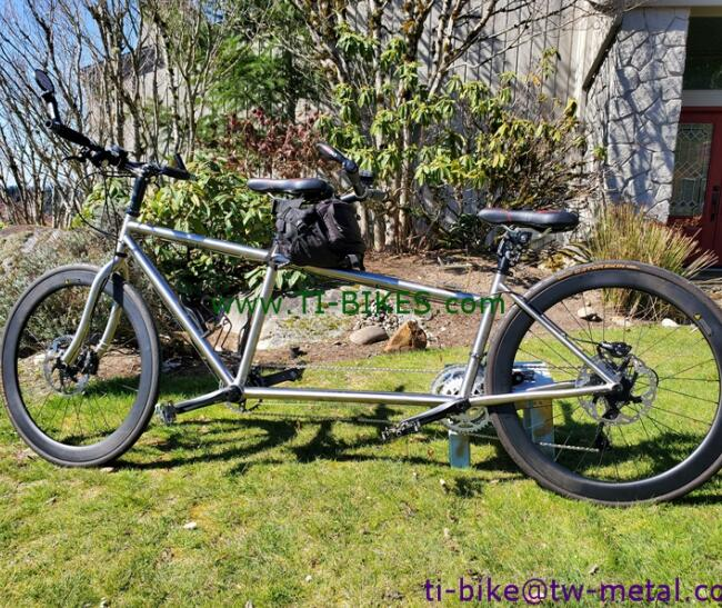 Custom Titanium Bike-Frame Tandem Fork Best Sheller High-Quality