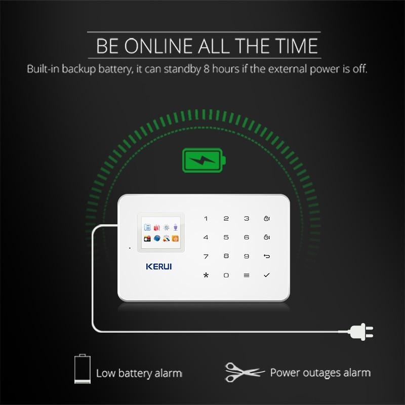 KERUI G18 GSM Home Burglar Security Protection Alarm Control Panel