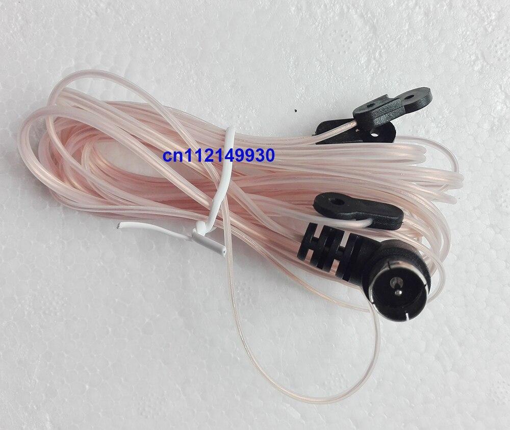 8FT FM Radio Antenne 75 Ohm UNBAL Dipôle Intérieur HD Aérienne F Connecteur Mâle Y Tuner Câble pour YAMAHA JVC SONY pour BOSE Récepteur