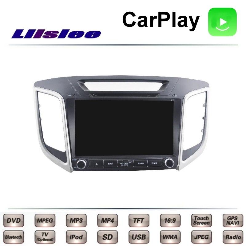 LiisLee For Hyundai Cantus ix25 ix 25 2014~2017 Car Multimedia TV DVD GPS Radio Carplay Original Style Navigation Navi