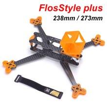 Нить FlosStyle плюс 5 дюймов 238 238 мм/6 дюймов 273 273 мм с 5 мм ручной Квадрокоптер кадров Комплект drone с 3D печатных ТПУ Материал